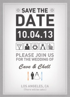 Triumph Save The Date Front