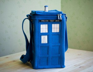 Tardis Phonebooth Bag - it's like the Time Lord Bag of Holding.